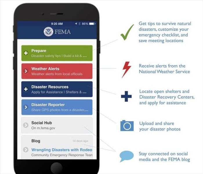 Fire Damage Federal Emergency Management App (FEMA)